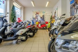 zweirad-hanser motorroller austellungsraum