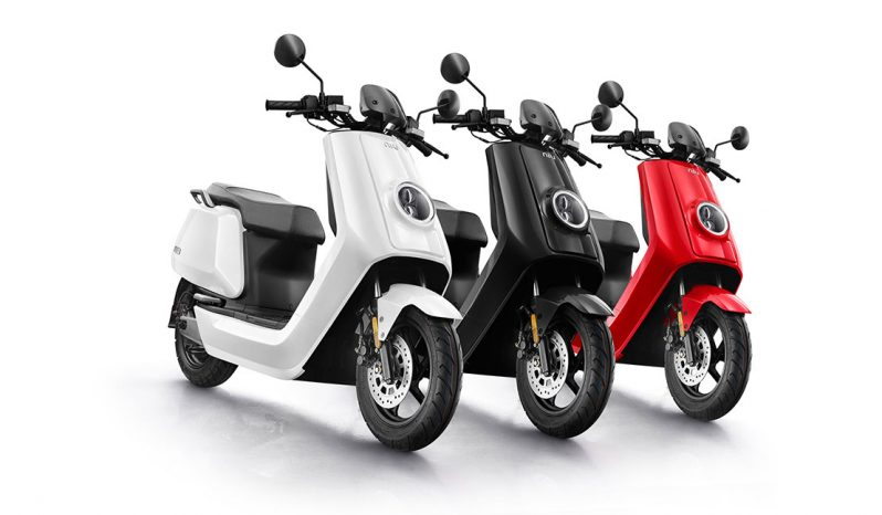 NIU N1S Elektro-Roller 45 km/h voll
