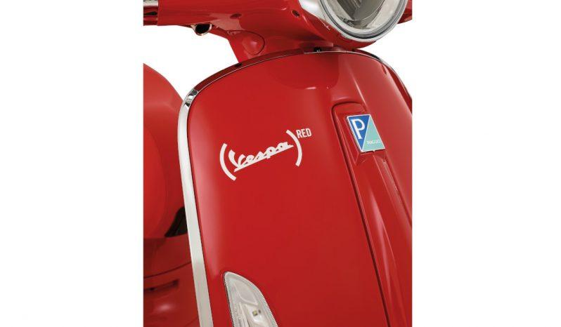 Vespa Primavera 50 RED full